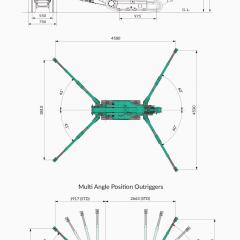 MK1033CW-1 Spider Crane
